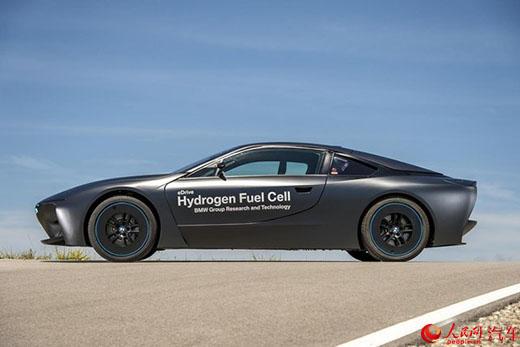 256马力纯电驱动 宝马推出i8氢燃料电池试验车
