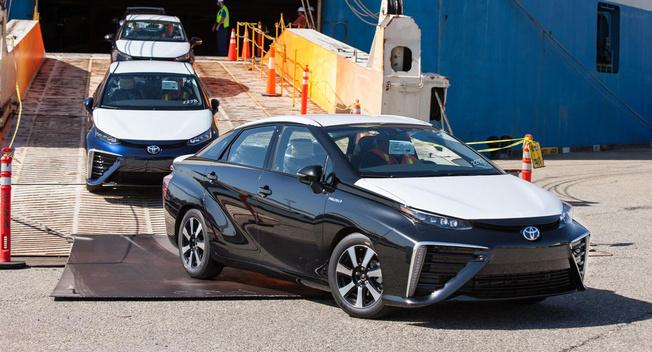 丰田Mira氢燃料电池车登陆加州 仅有10个加氢站