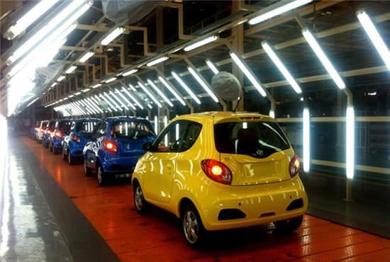 吉利知豆电动汽车宁波基地开工 年产10万辆纯电动车