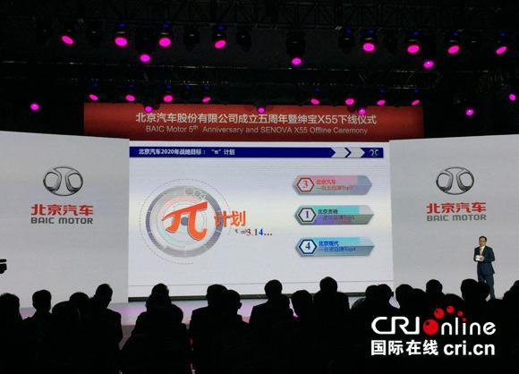 北京汽车发布2020战略:自主品牌目标前三 北京奔驰要当第一