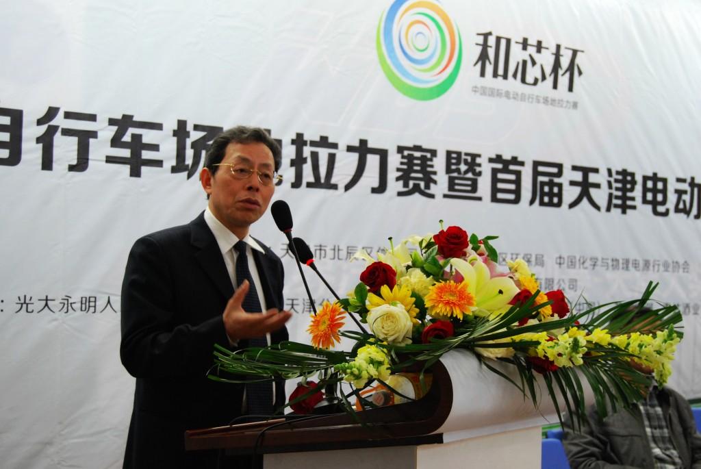 第五届(2015年度)中国电池行业年度人物:毛焕宇