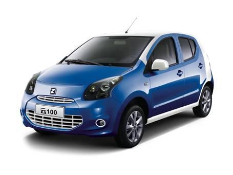 同比增长5306 众泰云100新能源汽车销量第一高清图片
