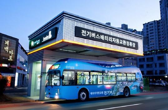 "<b>韩国电动客车""零""尴尬 市面全为中国制造</b>"