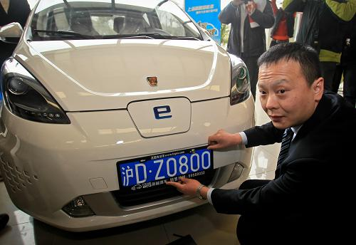 上海新能源车去年12月上牌量14715辆 超2019年全年