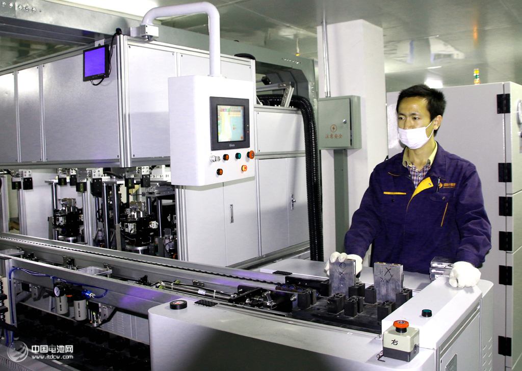 最大 庐江/资料图片/合肥国轩高科动力能源有限公司全自动化生产线