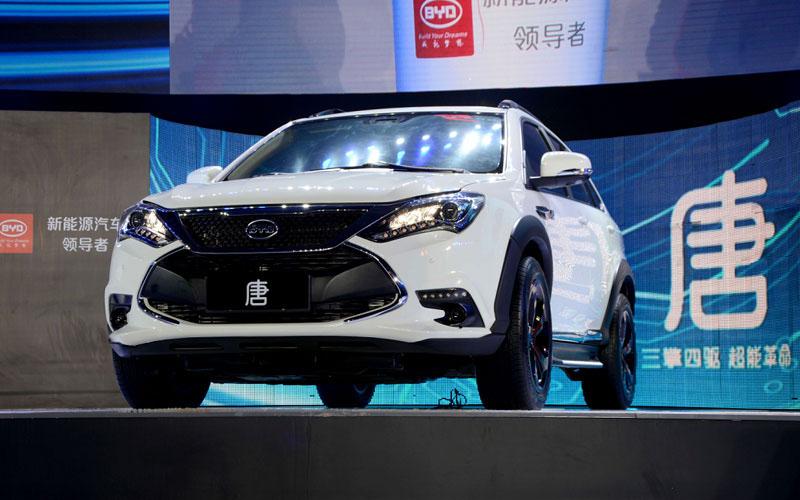 2016中国电动车销量排行预测:比亚迪唐夺冠