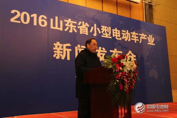 山东唐骏电动车有限公司总经理宋正亚高清图片