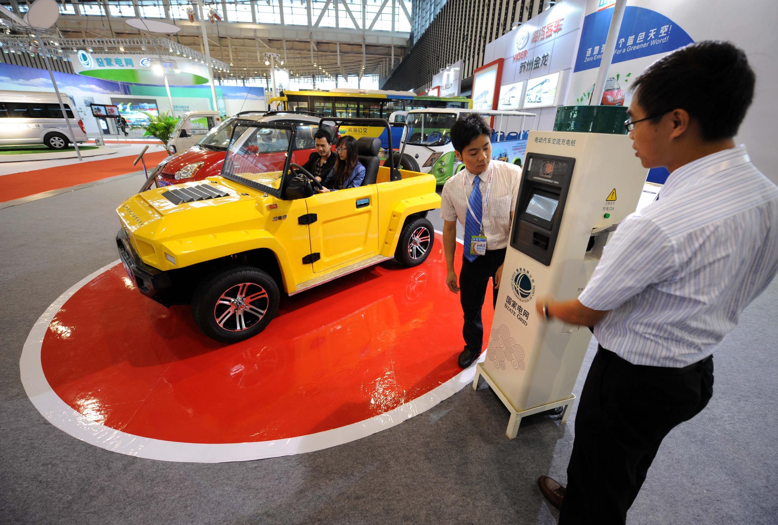 新能源汽车产业再获政策红包 充电桩将迎建设高峰期