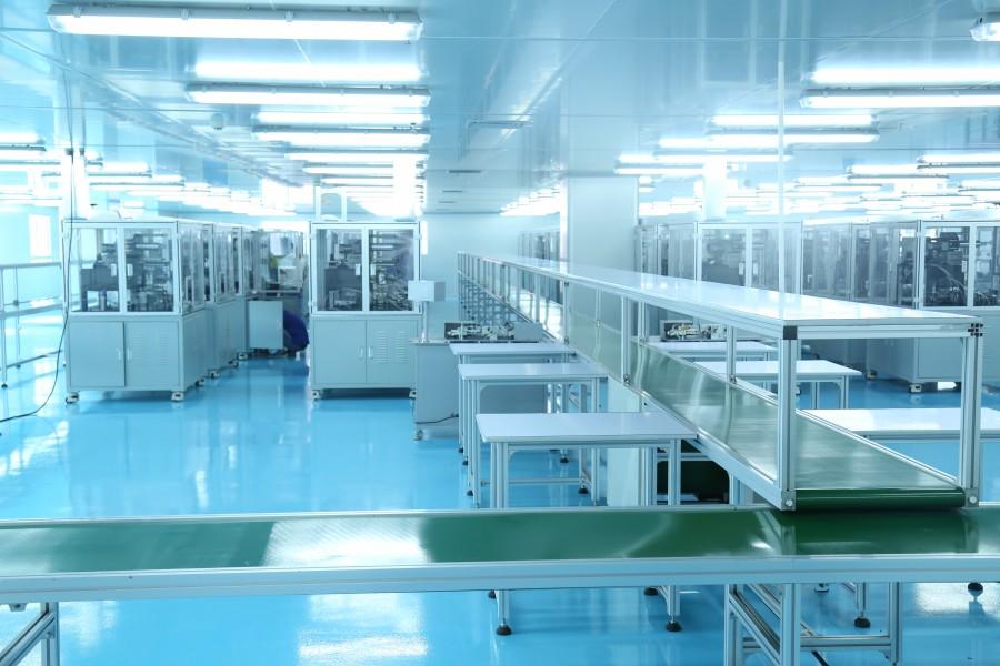 妙盛动力科技企业的高标准化厂房