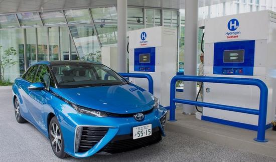 日本欲使燃料电池车加氢站数量增至目前的4倍
