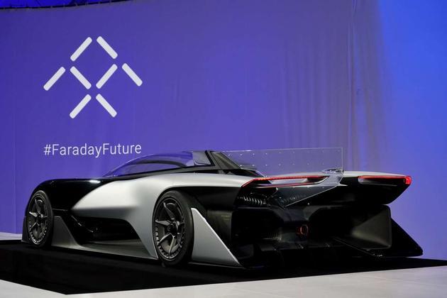 法拉第未来的概念汽车