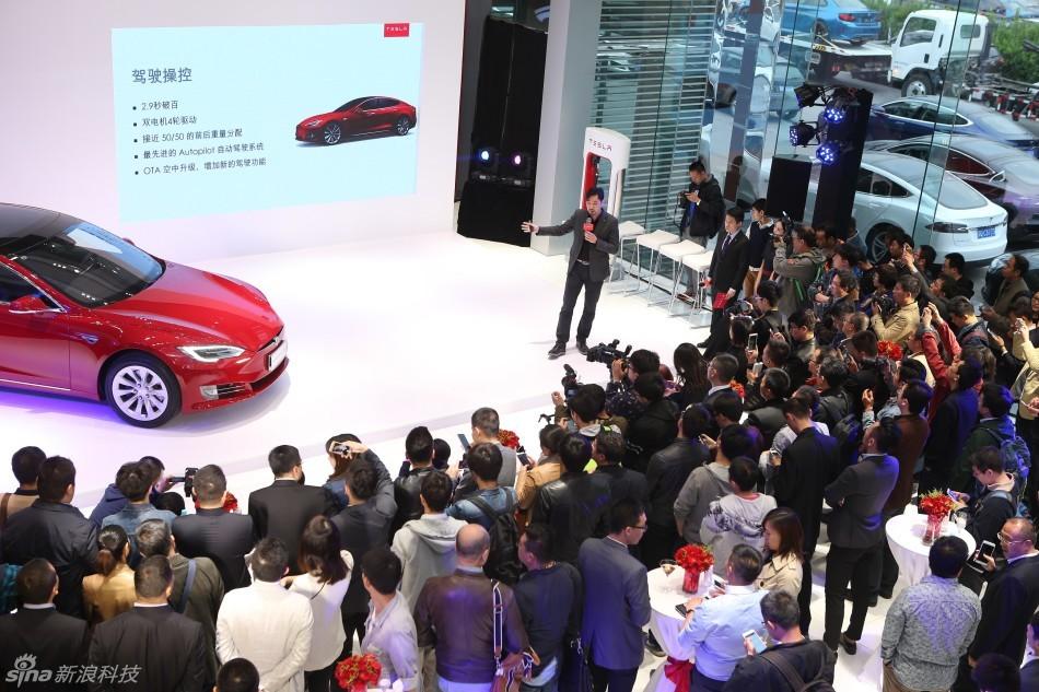 特斯拉新版Model S亮相:在中国防雾霾?并改进外观