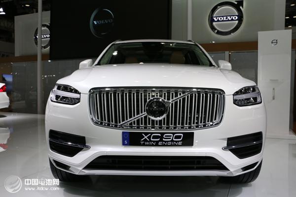 2015全球销量大涨 沃尔沃设百万辆电动车销量目标