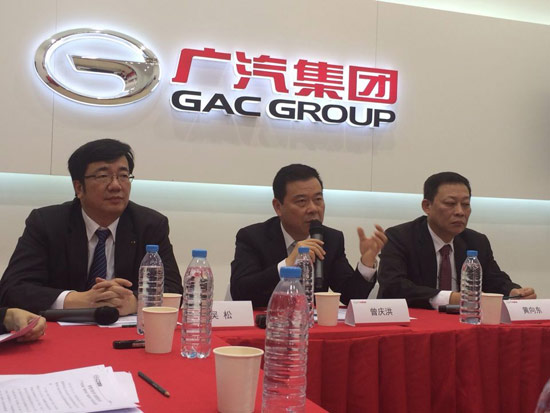 广汽举集团之力发展自主品牌 2020年将实现自主品牌百万辆销量