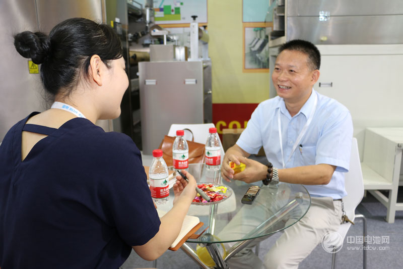 金银河锂电池装备事业部总经理李小云接受中国电池网采访