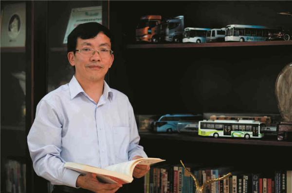 中车电动汽车股份有限公司董事长申宇翔。