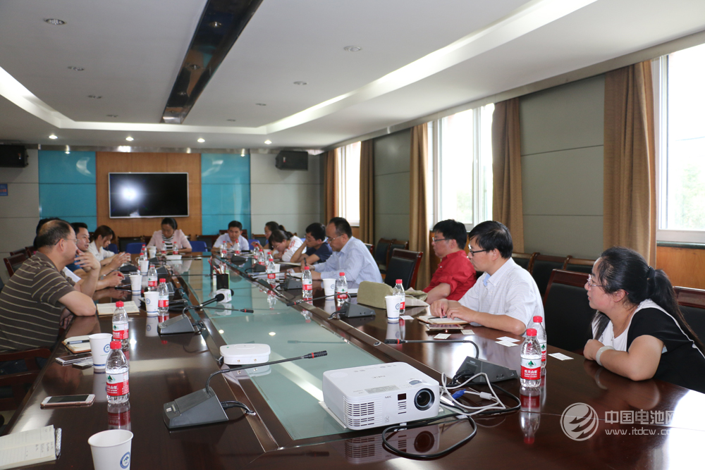 锂电新能源产业链调研团一行拜访中科院青海盐湖研究所