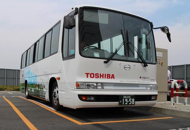 特斯拉过时了东芝测试电动巴士无线充电技术