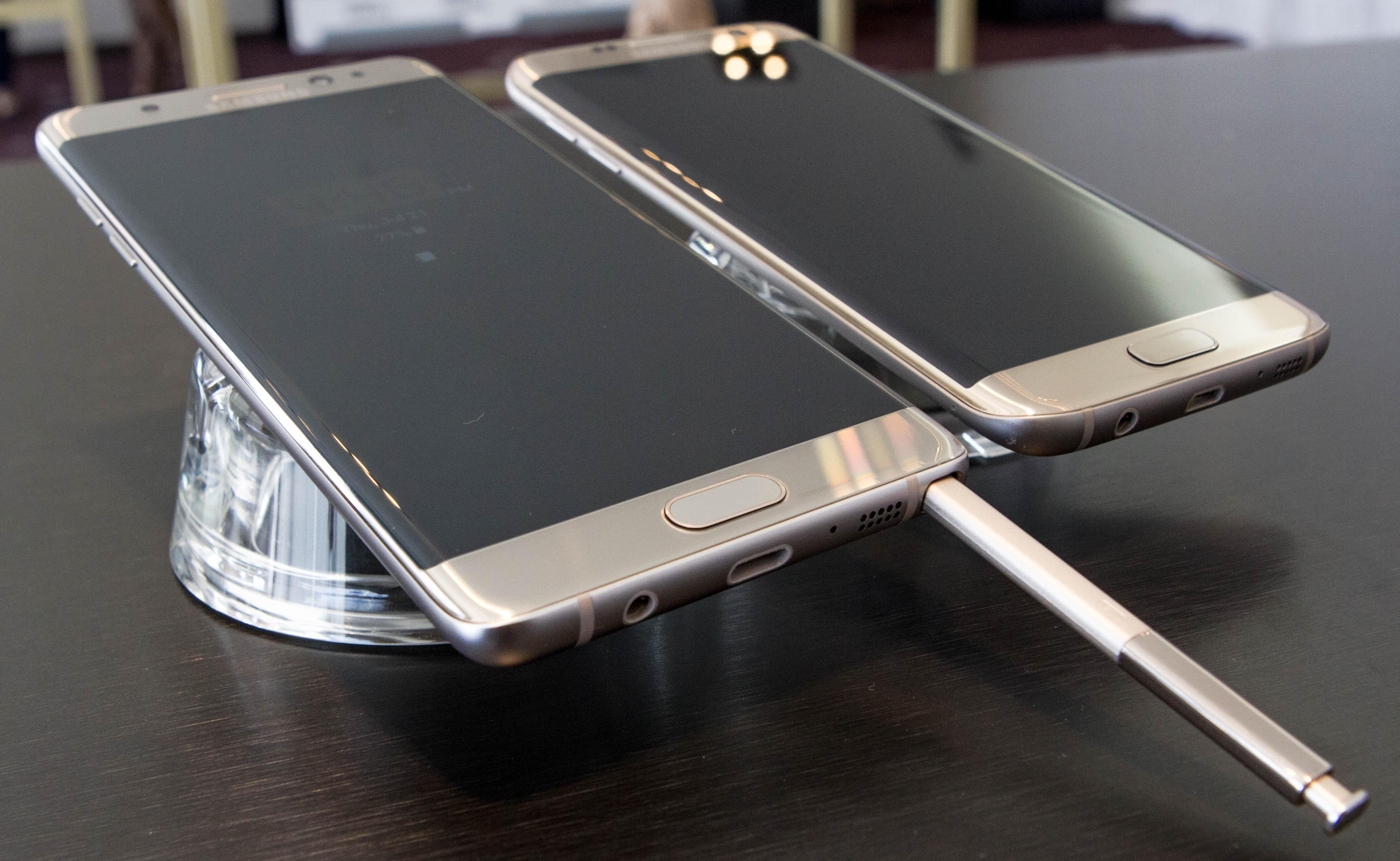Galaxy Note 7手机