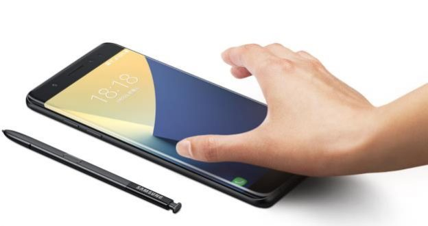 三星Galaxy Note7智能手机