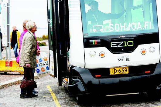 无人驾驶公交车在多国投入运营 将自动接送乘客