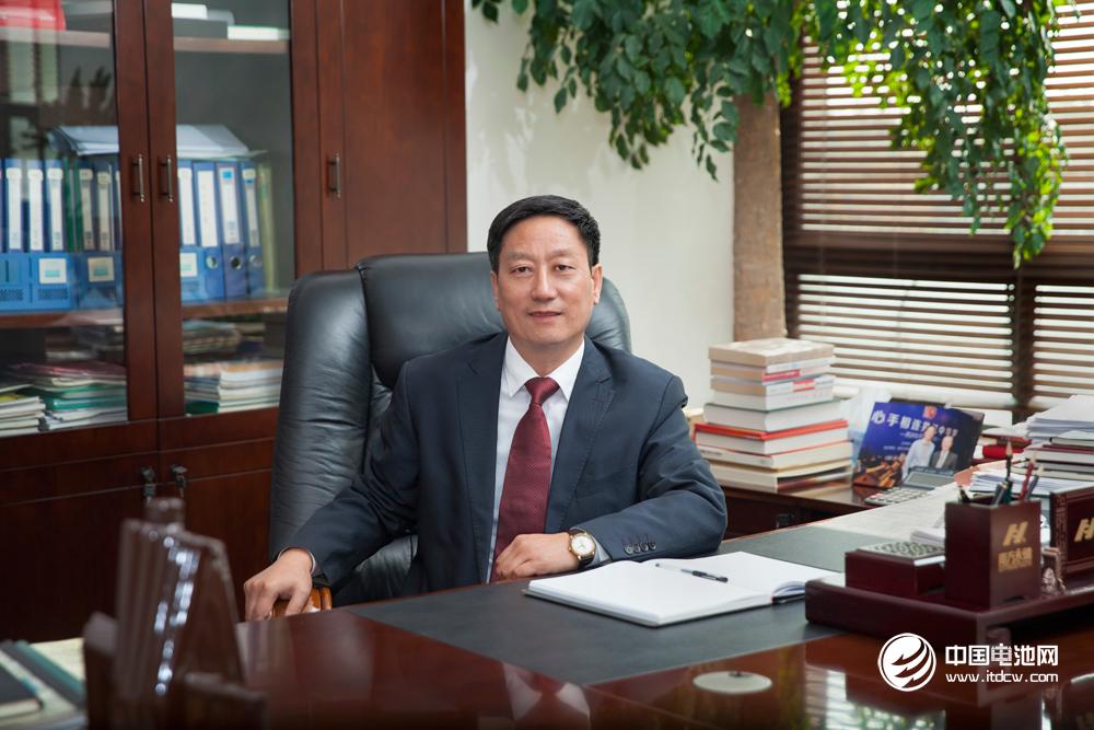 第六届(2016年度)中国电池行业年度人物:赵光辉