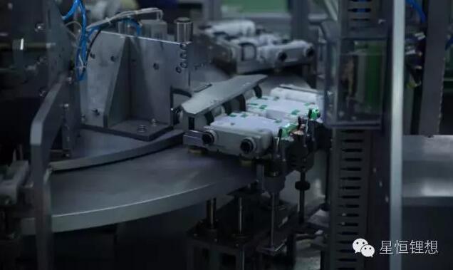 星恒2.5gwh锰酸锂电池投产图片