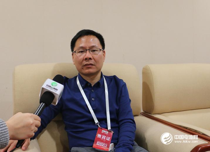 比亚迪动力电池事业部副总经理孙华军