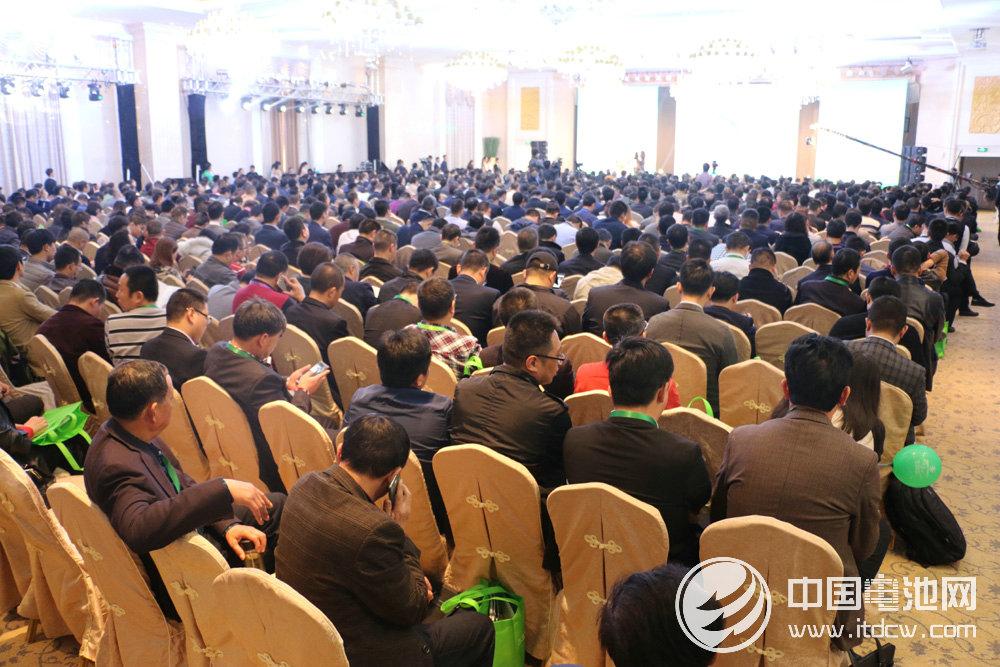 中国沃特玛新能源汽车产业创新联盟第三届年会 会议现场