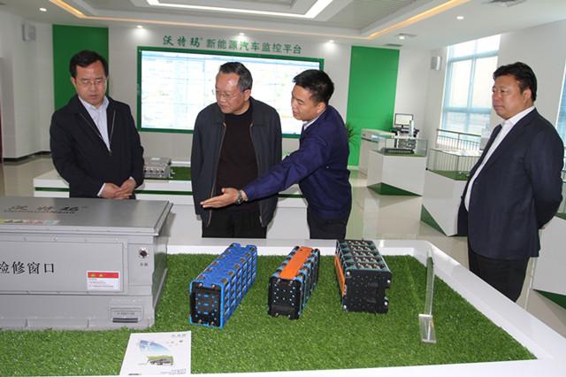 新能源产业相继落户 2017年渭南高新区动力电池产能可达30GW