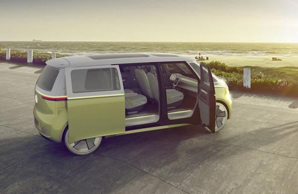 2017年北美车展:大众全新纯电动面包车