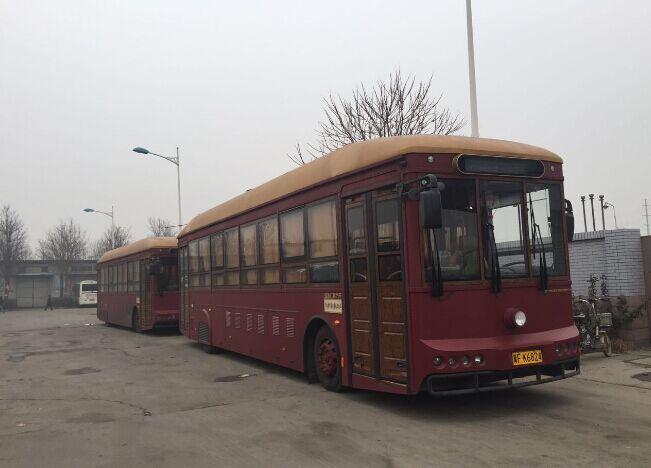 保定公交的银隆铛铛车