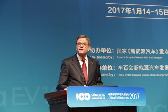 大众汽车集团董事长、中国区总裁兼CEO海兹曼