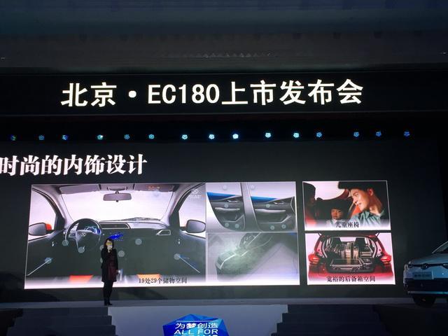 北汽新能源EC180正式上市 售4.98-5.58万元