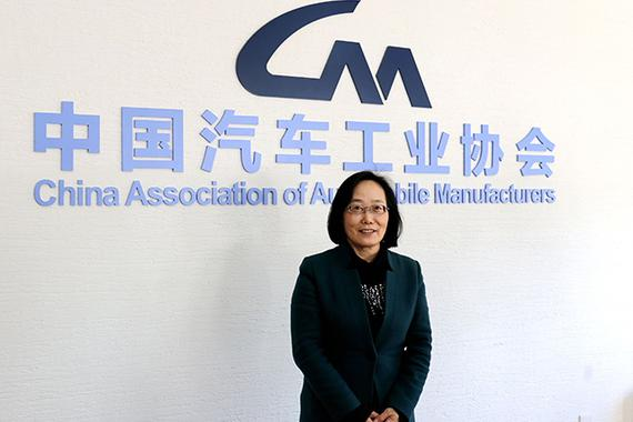 中国汽车工业协会副秘书长 许艳华