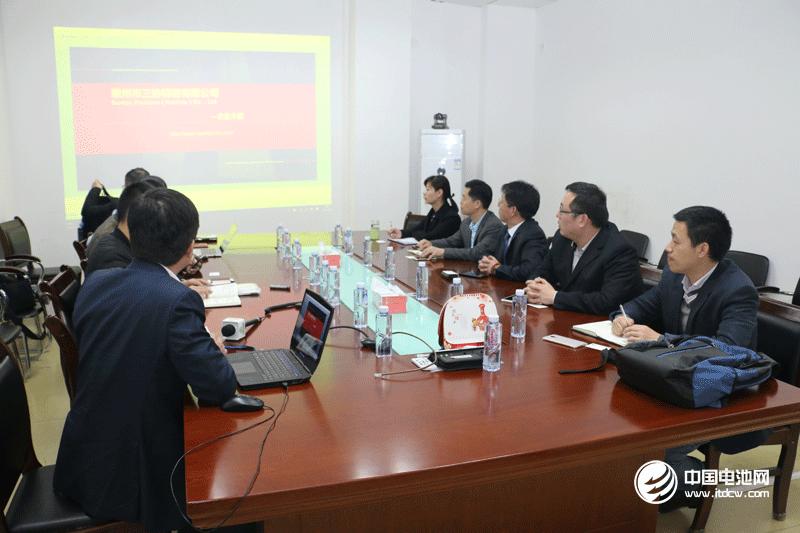 调研团一行与惠州三协领导交流、座谈