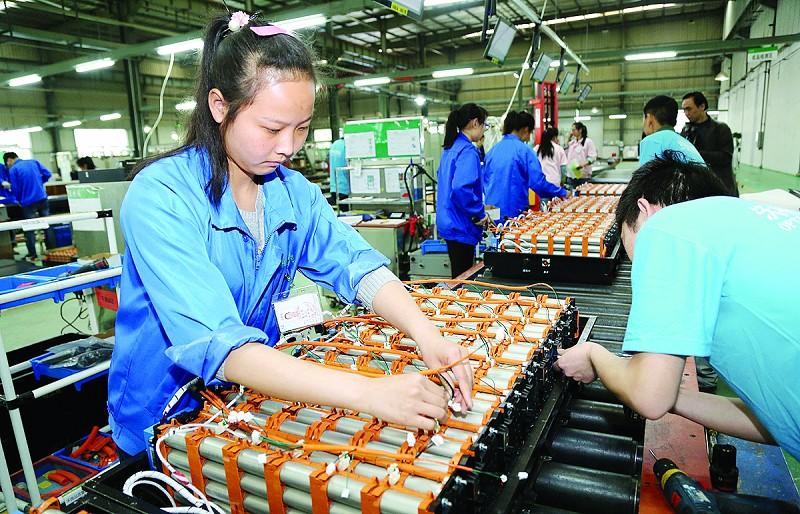 十堰沃特玛一季度生产动力电池3000台套 计划增3条生产线
