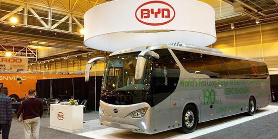 需求看升 比亚迪计划在欧洲增设电动巴士工厂