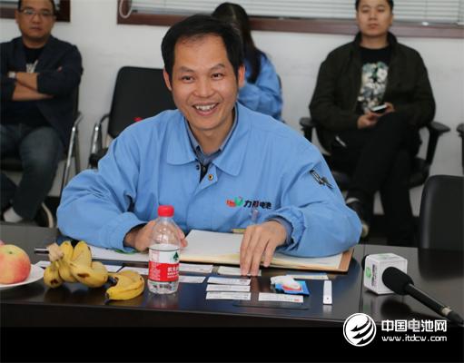 力神电池发展规划部总经理杨华通