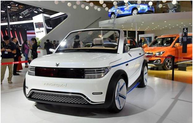 北汽新能源推出两门两座纯电动车ARCFOX-1