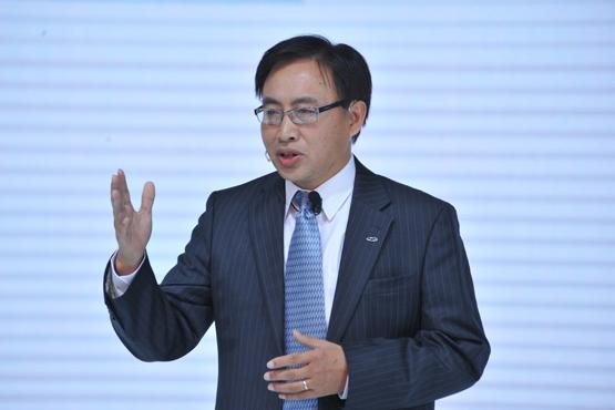 """奇瑞总经理陈安宁:""""一带一路""""政策指引奇瑞海外布局"""