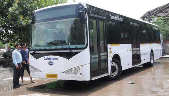 即将试运行 印度引进比亚迪新型电动巴士