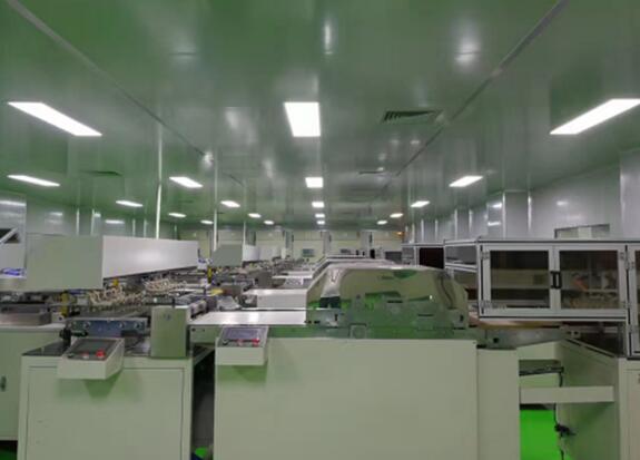 锂电池生产车间