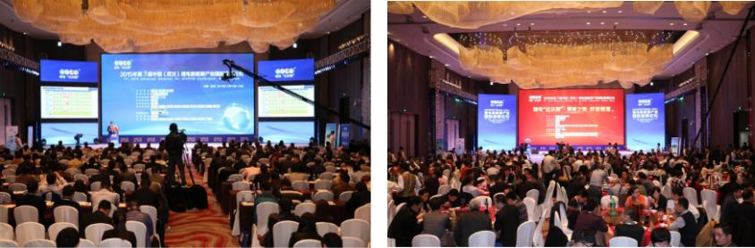 """第三届锂电""""达沃斯""""现场(ABEC2015,中国武汉)"""