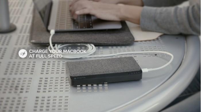 Mophie为苹果MacBooks推出新型高容量移动电池