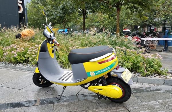 共享电动单车