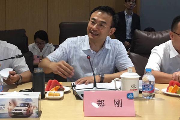 北汽集团党委委员、北汽新能源党委书记、总经理郑刚