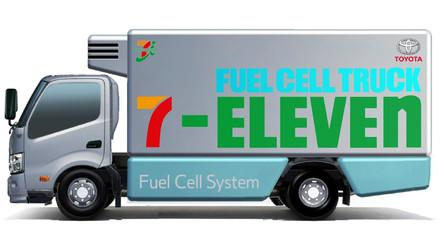 丰田与7-Eleven合作测试氢燃料电池卡车