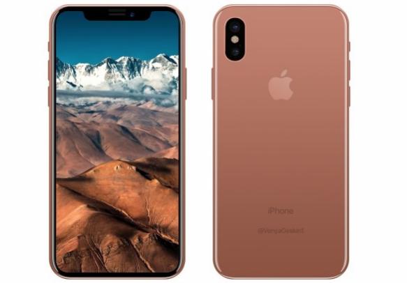 传iPhone 8配2700mAh双电池 支持虹膜识别技术
