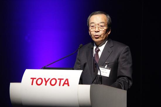 丰田汽车董事长内山田竹志